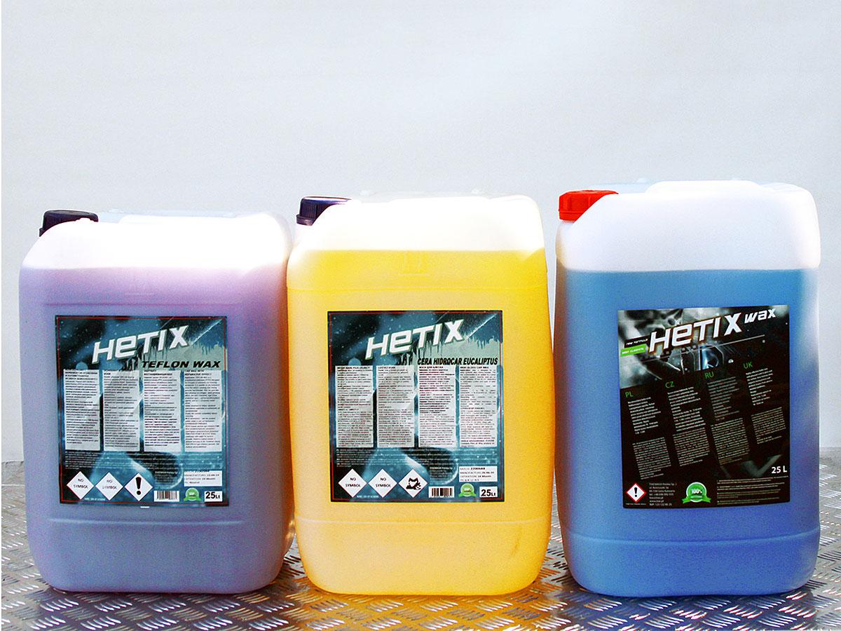 Hetix Wax, Hetix Cera Hidrocar Eucaliptus, Hetix Teflon Wax